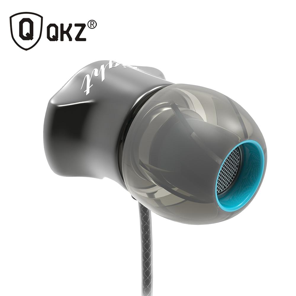 Écouteurs QKZ DM7 édition spéciale boîtier plaqué or casque isolation du bruit HD HiFi écouteur auriculares fone de ouvido