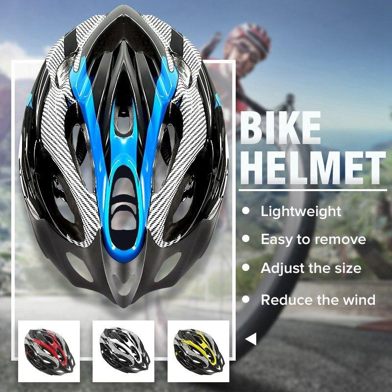 Carbon Mountainbike Fahrrad Radfahren MTB Skate Sicherheit Helm für Männer Frauen Jugend Neue Radfahren Rennrad Mtb Helm