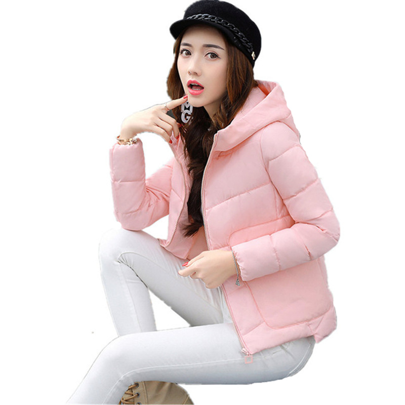 Winter Jacket Women Short Parka Hooded Warm UkraineWomen Jacket Down Cotton Winter Coat Wadded Outwear Manteau Femme Hiver C3702 free shipping winter jacket men down parka warm coat hooded cotton down jackets coat men warm outwear parka 225hfx