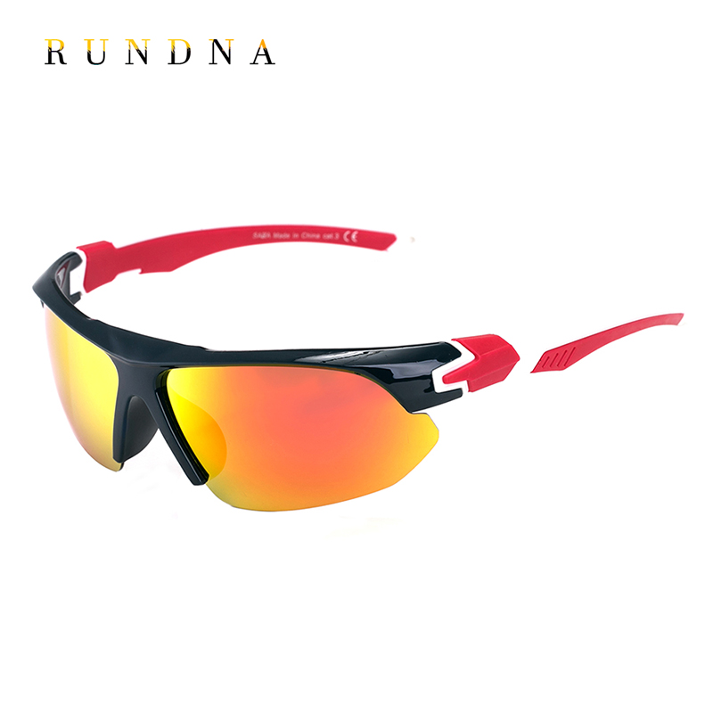 Rundna Polarized Cycling Sun Glasses Outdoor Sports Bicycle Bike Sunglasses Coating Mirror Running Fishing Golf Goggles Eyewear