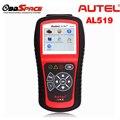 Original AUTEL Autolink AL519 Scanner Automotivo OBD2 ODB EOBD Leitor de Código de Falha de Diagnóstico Ferramentas de Verificação em Português Espanhol