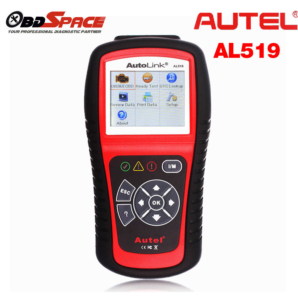 Original Automotive Scanner AUTEL Autolink AL519 OBD2 ODB EOBD Fault Code Reader Diagnostic Scan Tools in