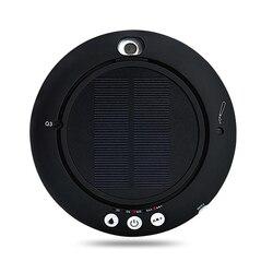 Samochód oczyszczacz powietrza słonecznego domu oczyszczacz powietrza słonecznego Mini nawilżacz jonów ujemnych Bar tlenowy akcesoria samochodowe