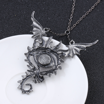 Maxi Dragon Fly Pendant Necklace1