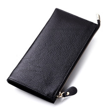Fashion Womens Wallets And Purses Women Wallets Genuine Leather Wallet Female Purse Long Coin Purses Holders Ladies Wallet