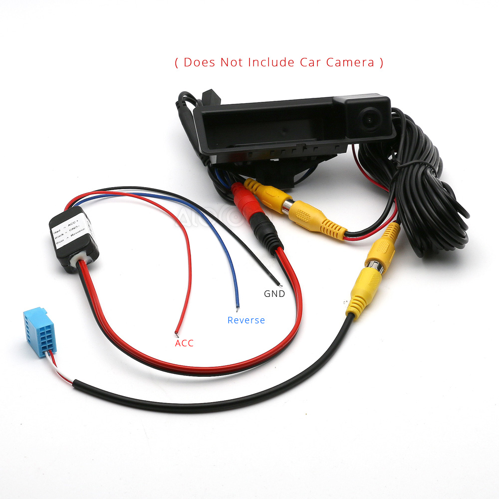 hight resolution of car rca rear view camera delay timer relay filter for vw rcd330g plus passat tiguan golf touran jetta pq mib conversion cable in vehicle camera from
