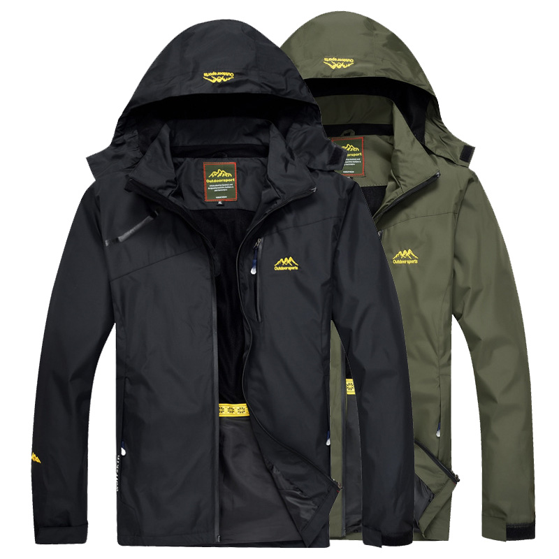 Loclimb Waterproof Jackets Windbreaker Rain-Coat Trekking Spring Fishing Outdoor Sports title=
