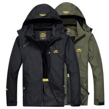 LoClimb, chaqueta para senderismo al aire libre para hombres, abrigo de lluvia para deportes de primavera para hombre, para escalada rompevientos, chaquetas impermeables de pesca AM255