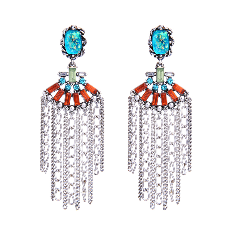 Sparkling Crystal Block Ring Chandelier: Aliexpress.com : Buy Blue Crystal Chandelier Pending