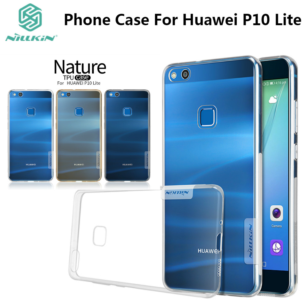 Nillkin Transparent Case For Huawei P10 Lite Cases 52inch Soft Silikon Lg V20 Nature Ultrathin 06mm Original 52 Inch Clear Silicon Tpu Protective Back Cover