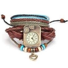 Rétro Dames Montre-Bracelet Marque Célèbre Femme Horloge Quartz Montre Hodinky Montres Femmes Montre Femme Relogio Feminino RW020