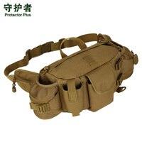 2017 New Protector Plus Outdoor Climbing Hiking Trekking Waist Bag Military Tactical Rucksacks Sport Camping Belt