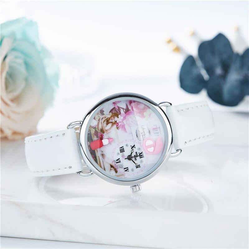 Miss Keke 2018 նոր դիզայնի կավ Cute Cute Geneva նվեր - Կանացի ժամացույցներ - Լուսանկար 4