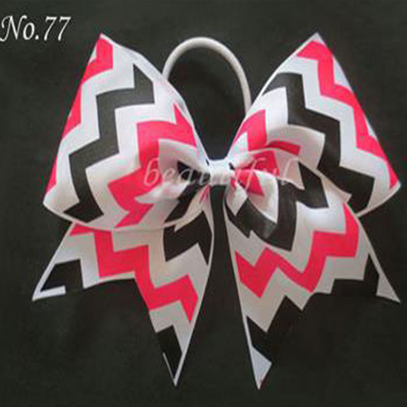 50 BLESSING Good Girl Hair Accessories 7 Cheer Leader Bow Elastic 83 No.