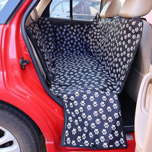 Waterproof Pet carriers Oxford Fabric Paw pattern Car Pet Seat Cover Dog Car Back Seat Carrier Pet Mat Hammock Cushion Protector pet carriers oxford fabric pet car seat cover dog car back seat carrier waterproof pet mat hammock cushion protector