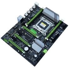 X79T Ddr3 настольных ПК материнская плата Lga 2011 ЦП компьютера 4 канала игровые поддержка M.2 E5-2680V2 I7 Sata 3,0 Usb 3,0 для Intel B