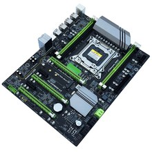 X79T Ddr3 escritorios de Pc placa base Lga 2011 Cpu computadora 4 canal de apoyo M.2 E5-2680V2 I7 Sata 3,0 Usb 3,0 para Intel B(China)