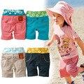 Niños Niñas Pantalones Cortos De Verano de Los Niños Ropa de Las Bragas de La Raya ocasional de Playa Pantalones Deportes Del Bebé Pantalones Niños Niños de Desgaste