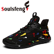 Soulsfeng Women Shoes Men Running Shoes Casual Trend Sneakers Fashion Sport Tennis Basketball Sneakers Walking Athletic Shoes