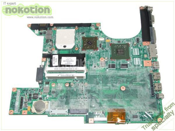NOKOTION 459564-001 LAPTOP MOTHERBOARD for HP PAVILION DV6000  GeForce 8600M GS DDR2 MAINBOARD 574680 001 1gb system board fit hp pavilion dv7 3089nr dv7 3000 series notebook pc motherboard 100% working