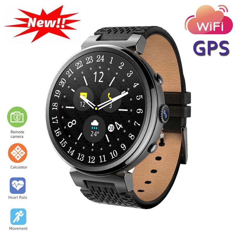 I6 Smartwatch Ultra Mince Positionnement GPS WiFi Bluetooth HD Caméra SIM Étanche Mâle Reloj Deportivo Stratos 2