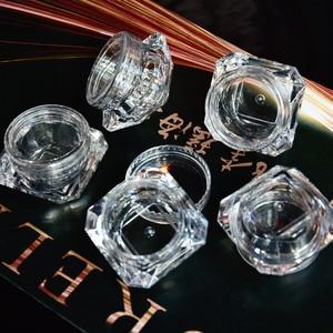 Image 5 - Wholesale 5g (5ml, 0.17oz) Clear 100Pcs Cosmetic Empty Jar Pot Eyeshadow Makeup Face Cream Lip Balm Container Box (Diamond)