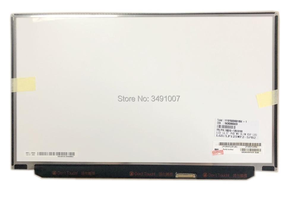 Здесь продается  LP125WF2 SPB2 LP125WF2(SP)(B2) fit LP125WF2 SPB1 LP125WF2(SP)(B1) FHD 1920X1080 30 pin EDP IPS 12.5 inch  Компьютер & сеть