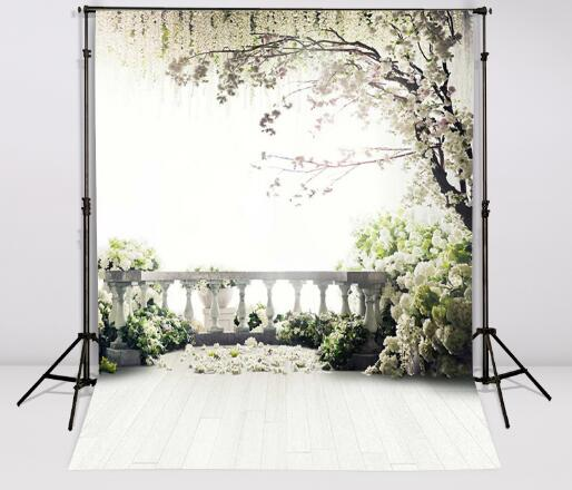 Vinyl Photography Backdrops Flowers trees garden loft wedding photo background Gallery backgrounds for photo studio CM-6942 kidniu scenery photography backdrops trees lake photo props wallpaper winter snow vinyl background for studio 9x5ft win1403