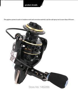 Image 3 - WOEN nuevo GTS2000 6000 carrete de pesca todo metal Cuerpo principal Anti agua de mar 9BB rueda giratoria