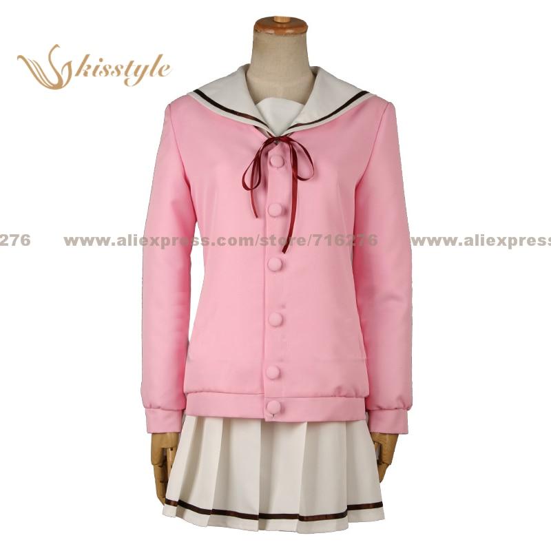 Mode Kisstyle est-ce que la commande est un lapin? Cacao Hoto rose uniforme scolaire COS vêtements Cosplay Costume, personnalisé accepté
