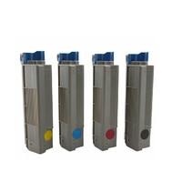 Toner For OKI C610 Color Laser Printer,Use For Okidata 44315304/03/02/01 For OKI Toner C610 Printer, For Oki C 610 Toner