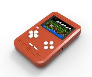 Image 3 - Mini FC nostaljik çocuk oyun makinesi Tetris oyun makinesi dahili 300 elde kullanılır oyun konsolu PSP el
