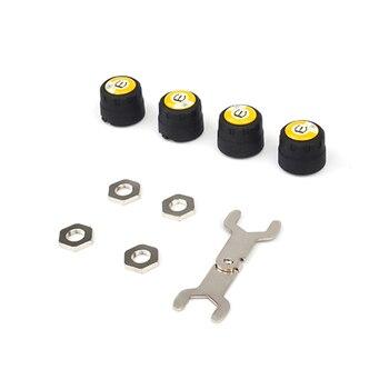 자동차 타이어 압력 모니터링 시스템 무선 블루투스 tpms 범용 자동 외부 센서 제어 시스템 ios 안 드 로이드 rea