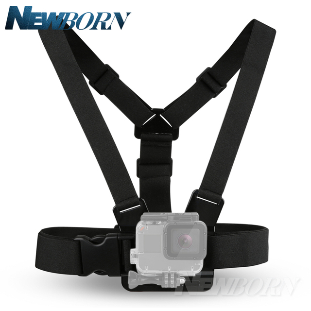 Hot Gopro Accessories Adjustable Chest Body Harness Belt Strap Mount For Gopro Hero 6 5 4 3 SJCAM XIAOMI YI accessories