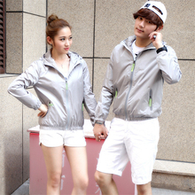 Female and Man Coats Loose Thin Casual Jacket Clothes Zipper cardigan Women Outwear Coat Summer Spring Winter