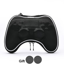 EVA Hard Pouch Bag for Sony PlayStation4 PS4 Controller Case Portable Lightweight Carry Case Protective Cover for PS4 Gamepad(China)
