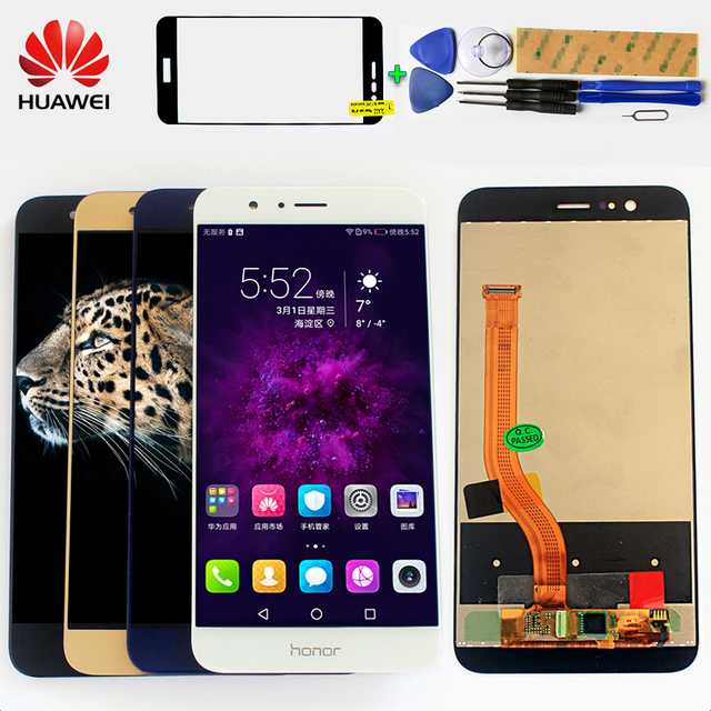 100% original LCD Display for HUAWEI Honor 8 Pro / HUAWEI V9 DUK-L09 DUK-AL20 touch screen Digitizer Assembly Free Tools