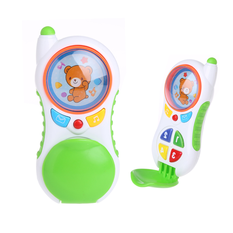 Baby Kids Mobile Cellphone Learning Study Music Sound Children Educational Toys image