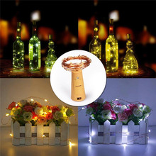 20 Leds 2M String LED Copper Wire Fairy Lights Christmas Lights Indoor for Festival Wedding Party Home Decoration Lamp цена и фото