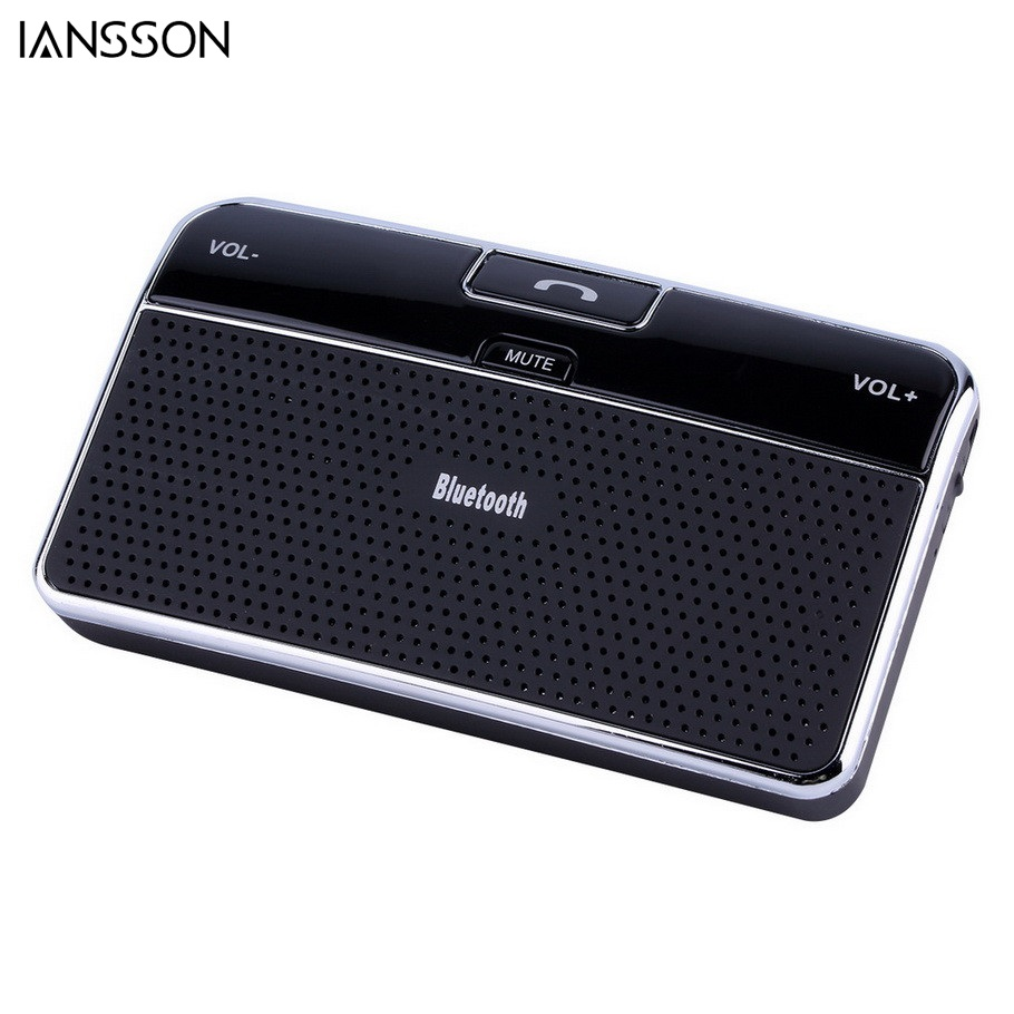 universal bluetooth 4 0 edr in car speakerphone sun visor. Black Bedroom Furniture Sets. Home Design Ideas