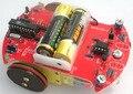 Línea siguiente linefollow coche robot DIY kits C Código de Soldadura kits para principiantes ROBOT DIY