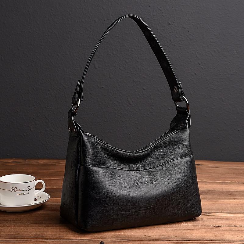 Luxury Genuine Leather Women's Handbags Shoulder CrossBody Bags Ladies designer Messenger Bag Women Bags Bolsas Feminina кронштейн для тв vivanco wm 4725 34890