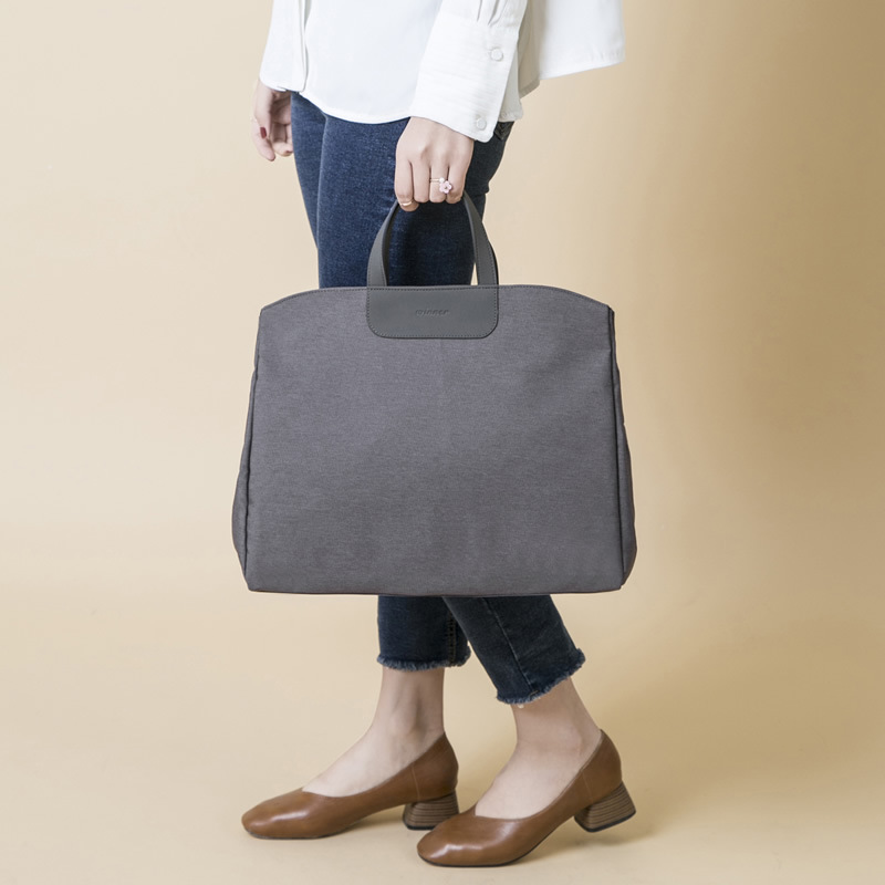 Waterproof <font><b>Oxford</b></font> Business <font><b>Handbag</b></font> Women Large Capacity Shoulder Bag Classic Document Bags Travel Portable Laptop Bags Tote Bag