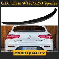Mercedes C253 углеродного волокна Новый стиль спойлер багажника крыло для Benz GLC внедорожник C253 Coupe 2016 подарок