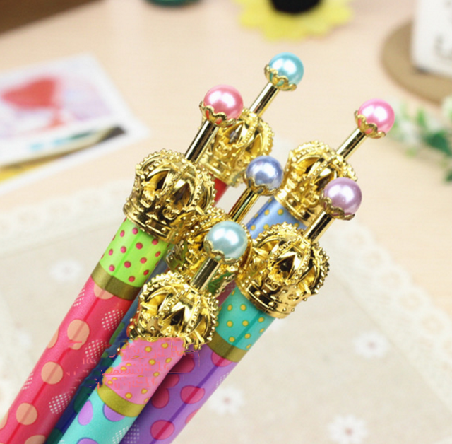 1 Piece Lytwtw s Korean Stationery Cute Gel Pen School Office Kawaii Supply Handles Novelty Gift