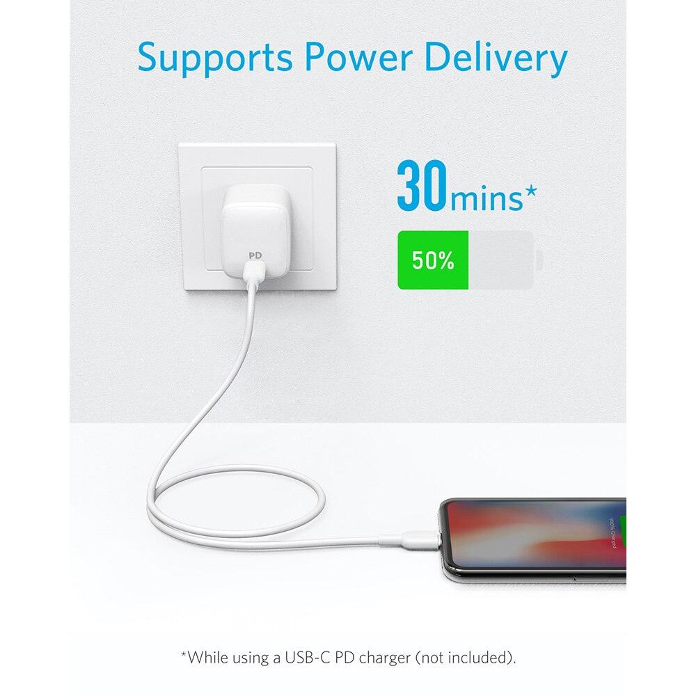 Image 2 - Anker USB C к кабелю Lightning, Apple MFi сертифицирован, power Line II для iPhone X/XS/XR/XS Max/8/8 Plus, поддерживает доставку питания-in Кабели для мобильных телефонов from Мобильные телефоны и телекоммуникации on AliExpress - 11.11_Double 11_Singles' Day