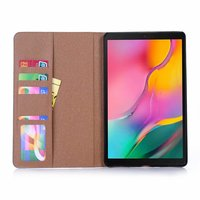 galaxy tab Stand Tablet Case for Samsung Galaxy Tab A 10.1 2019 SM-T510 SM-T515 funda PU Leather Flip Retro Cover Protective Shell (4)