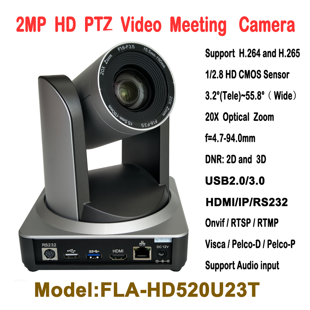 2MP 20X Optical Zoom USB HDMI IP Broadcast and Conference Video PTZ Camera RTMP RTSP Onvif with wall Ceiling bracket mount 2mp hdmi full hd broadcast 12x zoom ptz video conference camera audio with ip usb2 0 usb3 0 interface