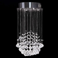 Ship From Germany Jellyfish Crystal Chandelier Lights For Living Room Bedroom Lustres Luminaire