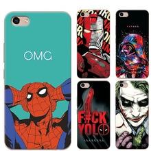 adlucky Phone Case For Coque Vivo Y81 Chic The Avengers Iron Man Charming Case Cover For Fundas Vivo Y81 Y 81 VivoY81 6.22″